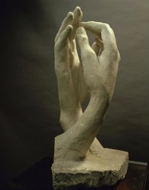 Auguste Rodin - The Cathedral, 1908