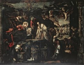 Jacopo Tintoretto - Adoration of the Magi