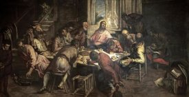 Jacopo Tintoretto - The Last Supper