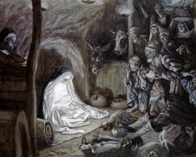 James Tissot - Adoration of the Shepherds