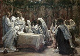 James Tissot - Communion of the Apostles