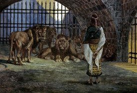 James Tissot - Daniel in the Lions Den