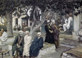 James Tissot - Jesus has Supper with Matthew