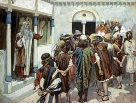 James Tissot - Moses Speaks to the People