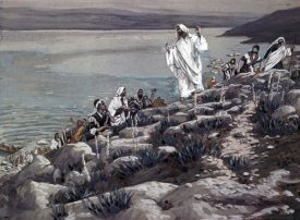 James Tissot - Seek Me Because Ye Eat from the Loaves