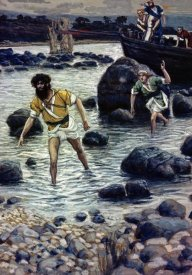 James Tissot - The Calling of James and John