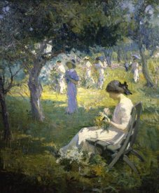 Mary Bradish Titcomb - Garden Party