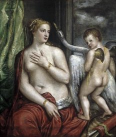 Titian - Leda and the Swan