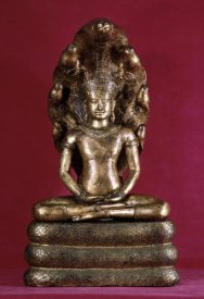 Unknown - Buddha Sheltered by the Cobra (Style of Angkor Wat)