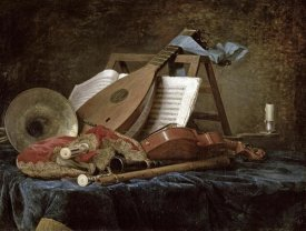 Anne Vallayer-Coster - The Attributes of Music