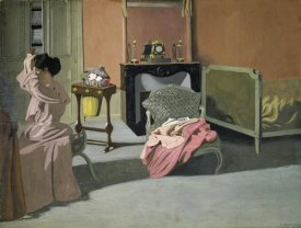 Felix Vallotton - Lady Doing Her Hair