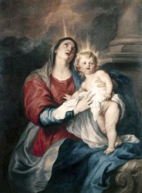 Anthony Van Dyck - Virgin & Child
