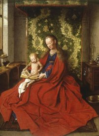 Jan Van Eyck - Madonna & Child