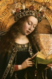 Jan Van Eyck - The Virgin: Ghent Altarpiece