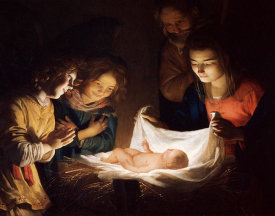 Gerrit Van Honthorst - The Adoration