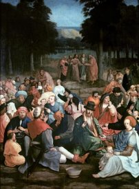 Lucas Van Leyden - Miracle of the Loaves & the Fishes