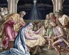 Julius Schnorr von Carolsfeld - Birth of Our Lord
