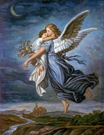 Wilhelm von Kaulbach - The Guardian Angel