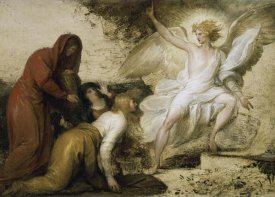 Benjamin West - The Angel at the Tomb of Christ