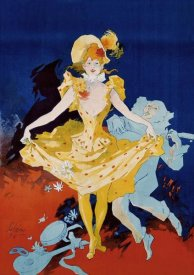 Jules Cheret - Musee Grevin / Pantomimes Lumineuses