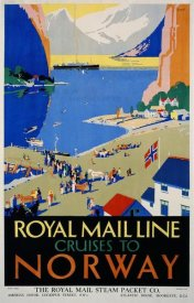 Daphne Padden - Royal Mail Cruises / Norway