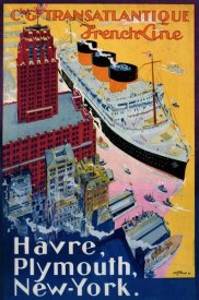 Albert Sebille - Transatlantique-French Line / Paris-Havre-New York