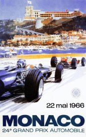 Michael Turner - Monaco Grand Prix 1966