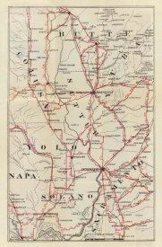 George W. Blum - California - Colusa, Yolo, Napa, Butte, Yuba, Sutter, Solano, and Sacramento Counties, 1896