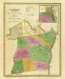 David H. Burr - New York - Albany, Schenectady counties, 1829