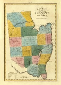 David H. Burr - New York - Saratoga County, 1829
