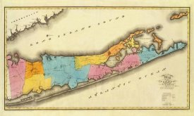 David H. Burr - New York - Suffolk County, 1829