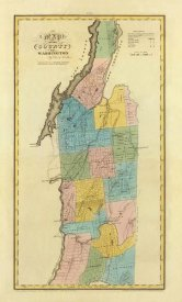 David H. Burr - New York - Washington County, 1829