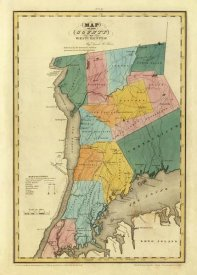 David H. Burr - New York - Westchester County, 1829