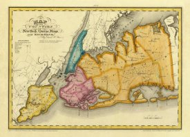 David H. Burr - New York, Queens, Kings, Richmond counties, 1829