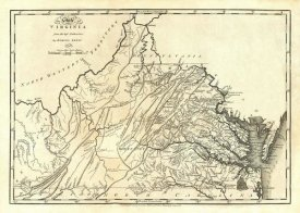 Mathew Carey - State of Virginia, 1795
