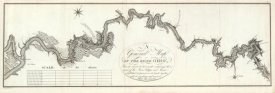 George Henri Victor Collot - A General Map of The River Ohio, 1796