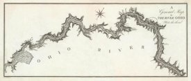 George Henri Victor Collot - A General Map of the River Ohio, Plate 3, 1796
