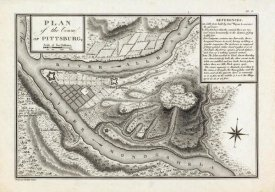 George Henri Victor Collot - Plan of the Town of Pittsburg, Pennsylvania, 1796