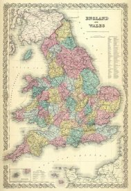 G.W. Colton - England and Wales, 1856