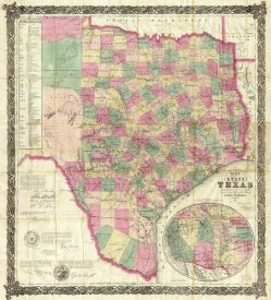 Jacob De Cordova - The State of Texas, 1867
