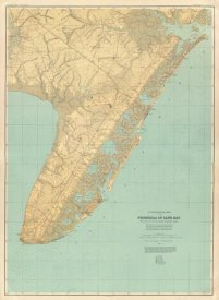 Geological Survey of New Jersey - Cape May, New Jersey, 1888