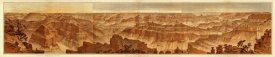 William Henry Holmes - Grand Canyon - Composite: Panorama from Point Sublime, 1882