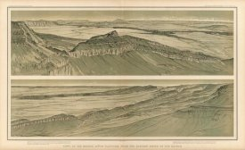 William Henry Holmes - Grand Canyon - Views of the Marble Canon Platform, 1882