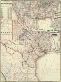 Houston and Texas Central Railway - Texas and Mexico, Houston and Texas Central Railways, 1885