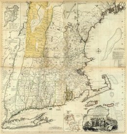 Thomas Jefferys - Composite: New England, 1776