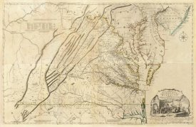 Thomas Jefferys - Composite: Virginia, 1776