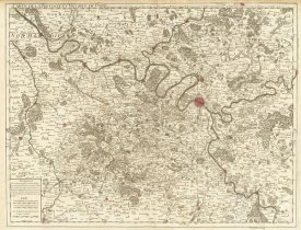 Guillaume de Lisle - Paris, France, 1711