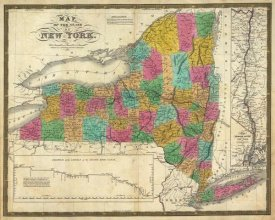 Samuel Augustus Mitchell - State of New York, 1831