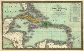 Samuel Augustus Mitchell - West Indies, 1831