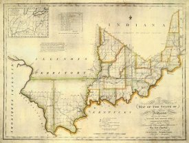 W. Shelton - The State of Indiana, 1817